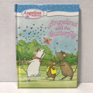 ♦️Pick 8/$25♦️Angelina Ballerina and the Butterfly